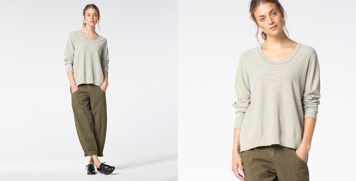 Pullover Ume 940 moss