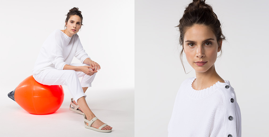 Pullover Akela white