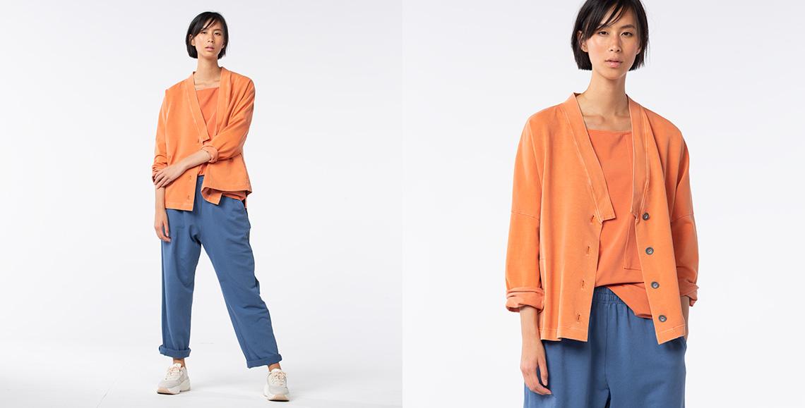 Jacket Rumio 902 kimchi Shirt Verdelo 905 kimchi