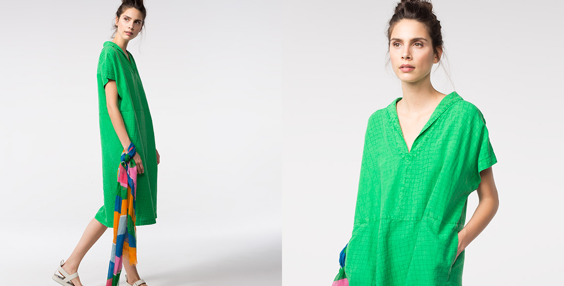 Kleid Avy green