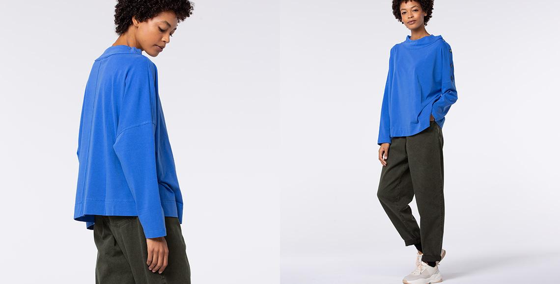 pullover Adanna cobalt