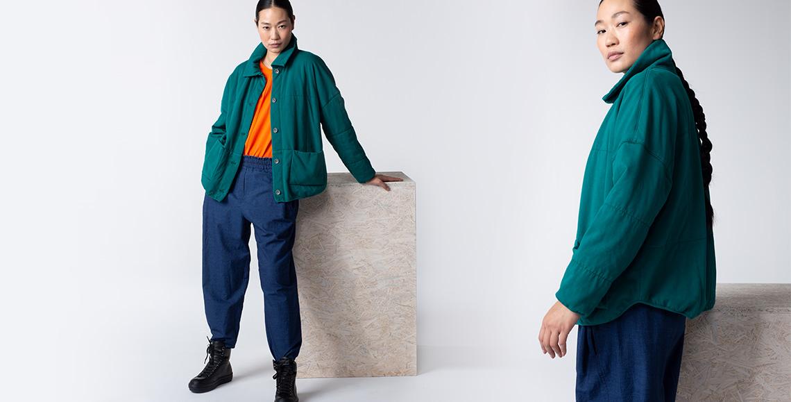Jacket Beniko 001 LAGOON