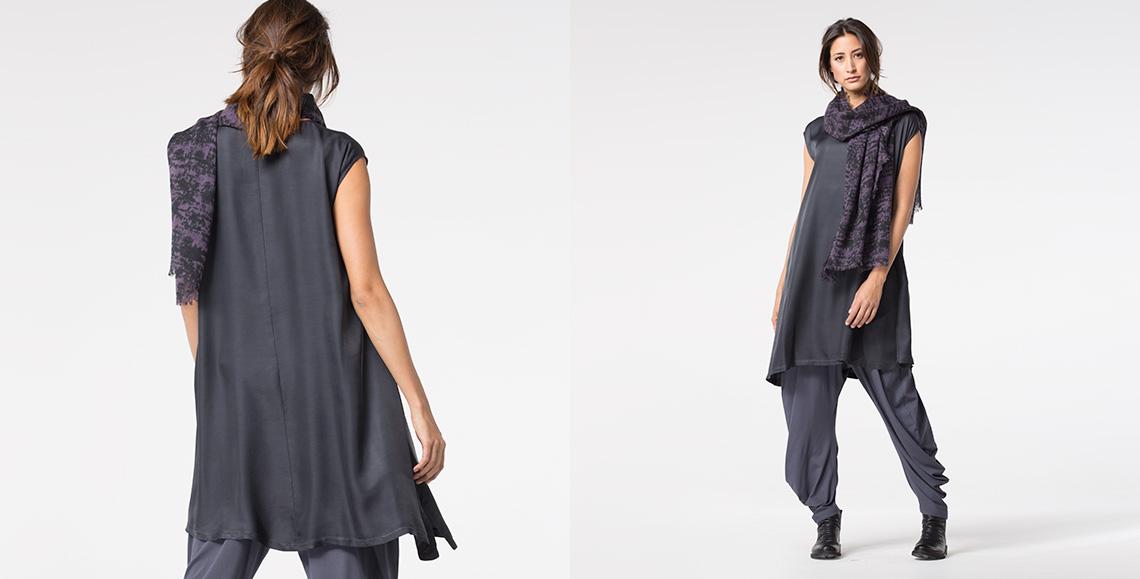 dress Rinara slate
