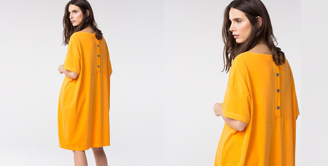 Kleid Aicha orange