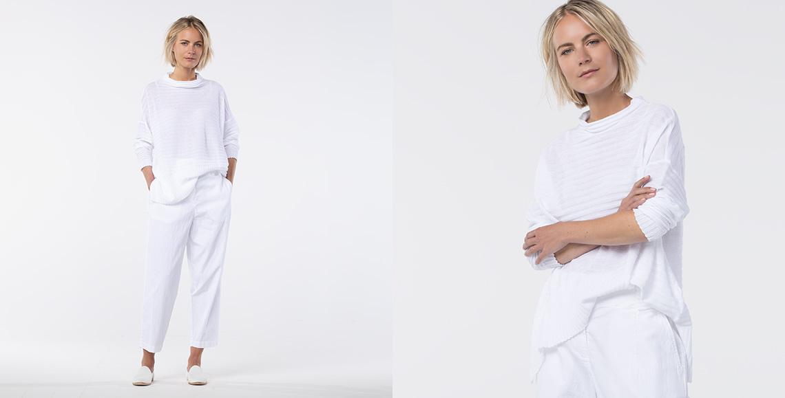 Pullover Anea white
