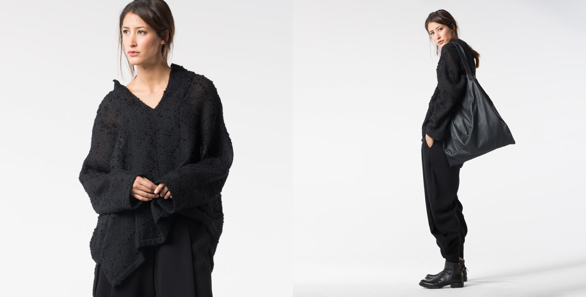 blouse Vesna black