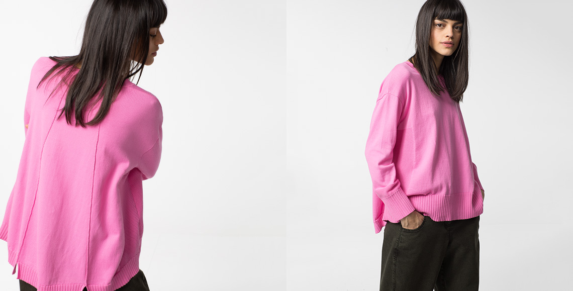 Pullover 909 pink