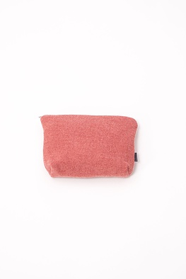 Bag out of boiled wool with dart