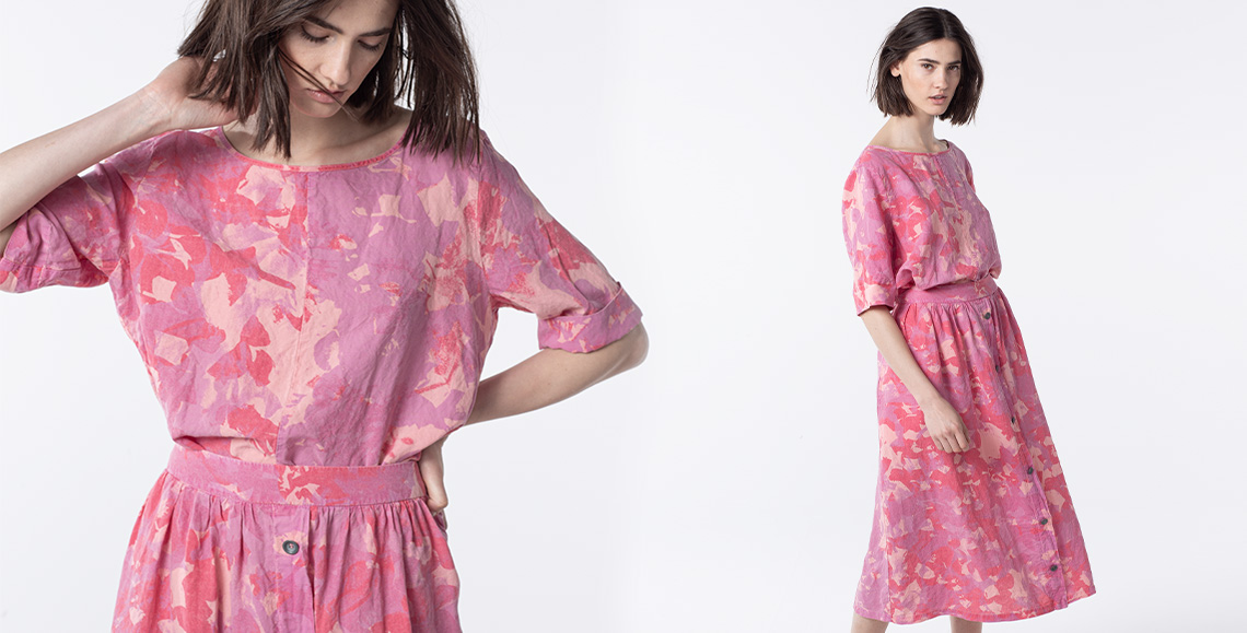 blouse Camila 002 dahlia