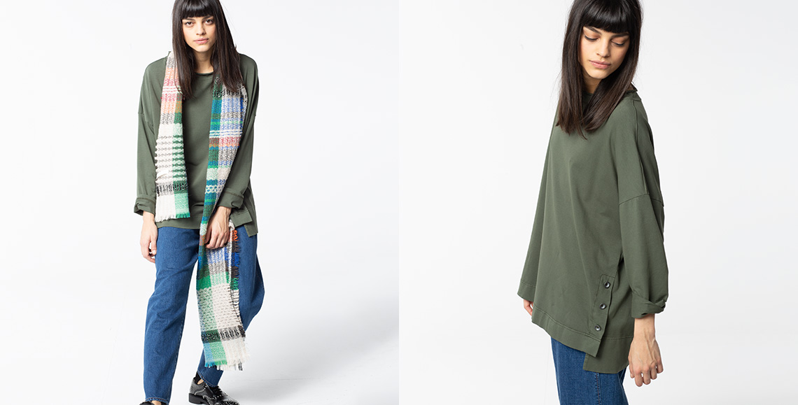 Pullover 901 thyme