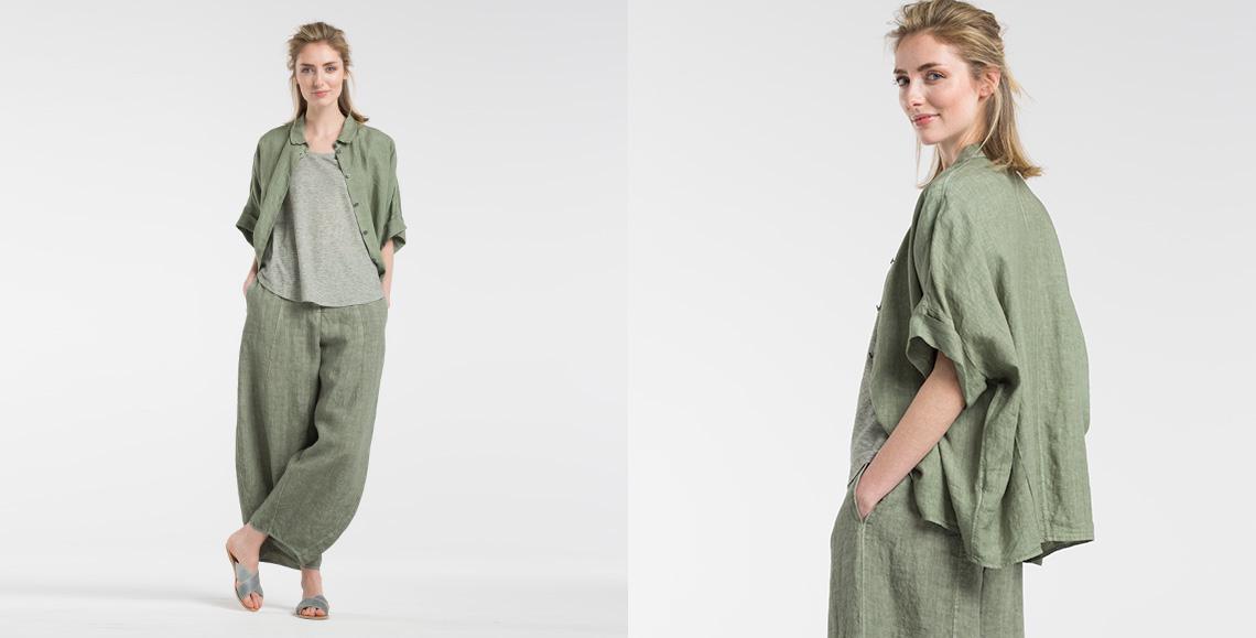 blouse Thao clover