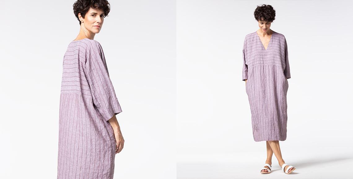Dress Rokuro 929 wash terra